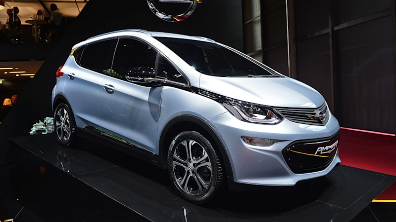 Opels Version Of The Chevy Bolt Will Confuse People At Paris Motor