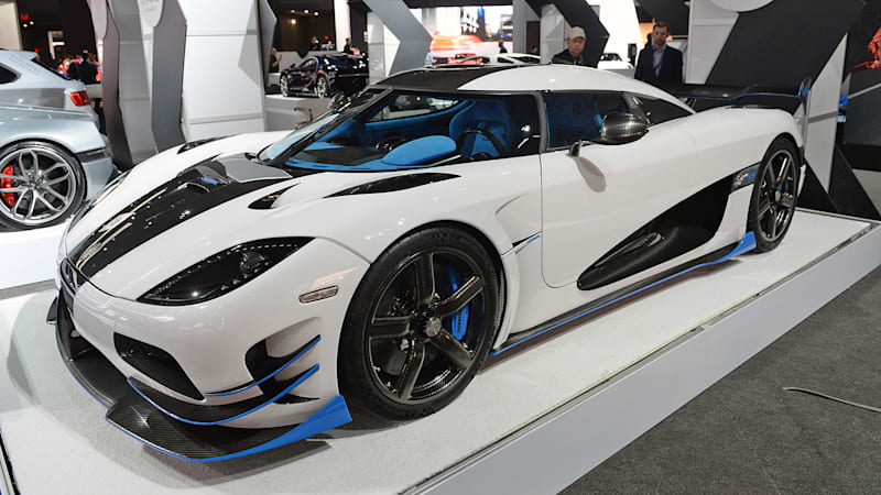 Car Maintenance List >> A 1,360-hp Koenigsegg Agera RS Gryphon crashes again - Autoblog
