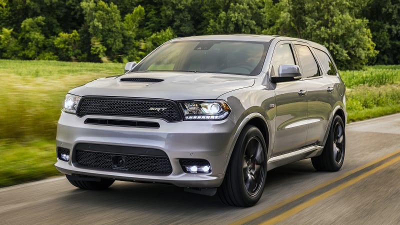 2018 dodge durango srt first drive speed and space for six autoblog. Black Bedroom Furniture Sets. Home Design Ideas