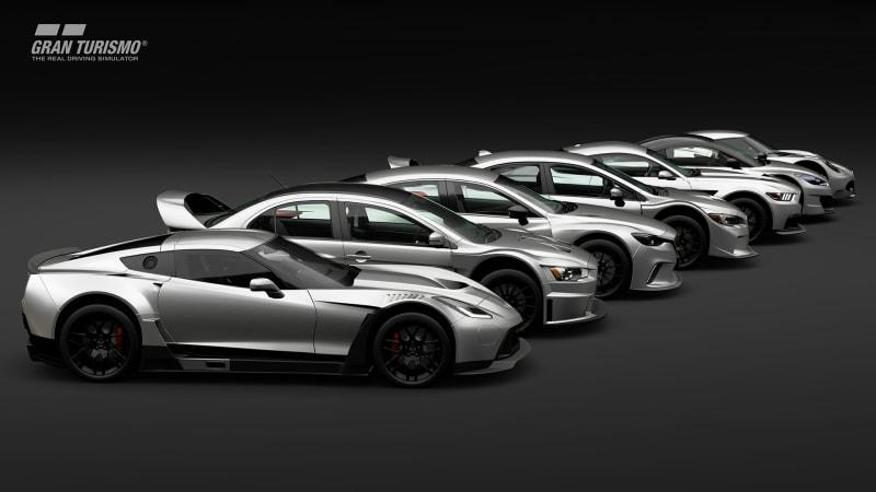 Here are all 162 cars in 'Gran Turismo Sport'