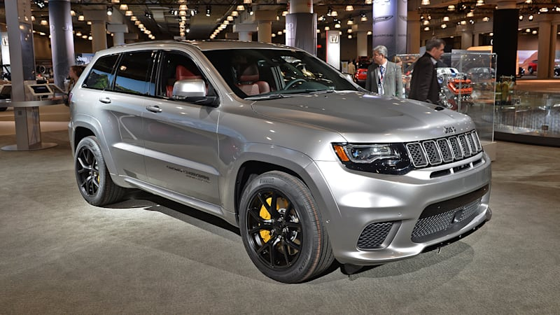 The Jeep Grand Cherokee Trackhawk is the all-wheel-drive ...