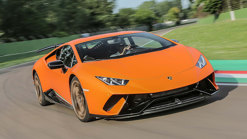 2018 lamborghini gold. interesting gold 2018 lamborghini huracan performante first drive  the banshee of  santu0027agata  autoblog for lamborghini gold