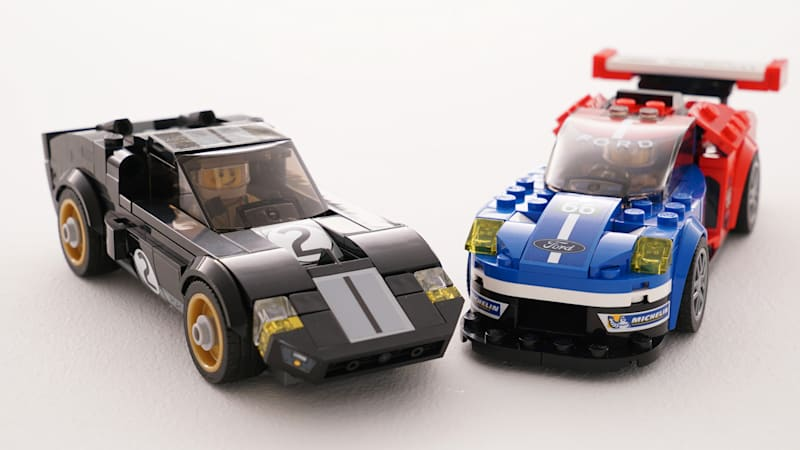 You'll want this Lego 1966 Ford GT40 and 2016 GT - Autoblog