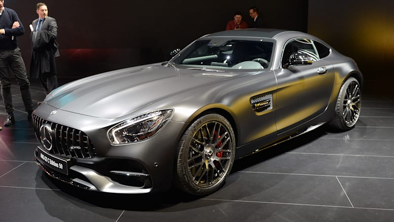 Mercedes Refreshes The Amg Gt For 2018 And Adds A Gt C Coupe Autoblog