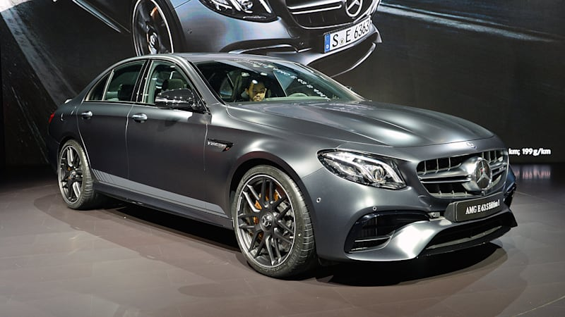 Mercedes E63 Amg >> 2018 Mercedes Amg E63s Debuts In La With 603 Horsepower