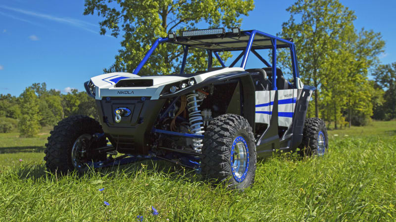 Nikola zero electric utv arrives with a 37 500 price tag for Nikola motors stock price