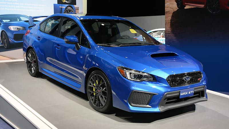 the refreshed 2018 subaru wrx starts at 27 855 autoblog. Black Bedroom Furniture Sets. Home Design Ideas