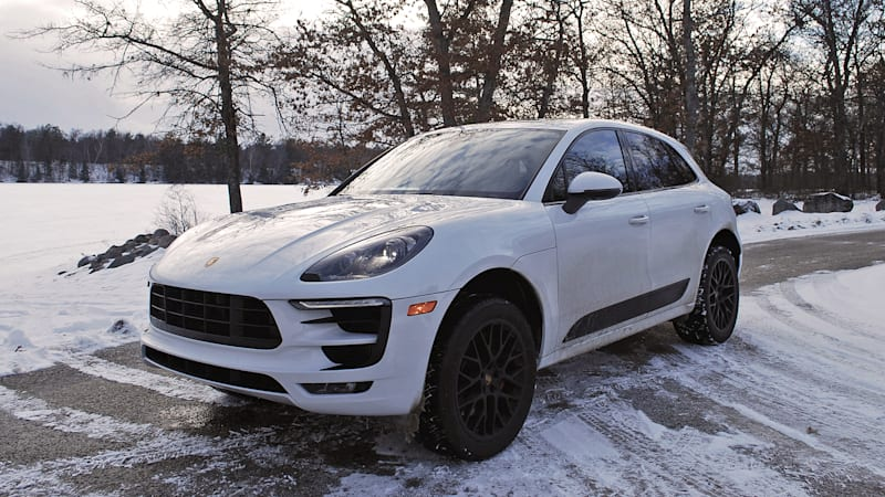 the porsche macan gts is a great way to get to a winter rally autoblog. Black Bedroom Furniture Sets. Home Design Ideas