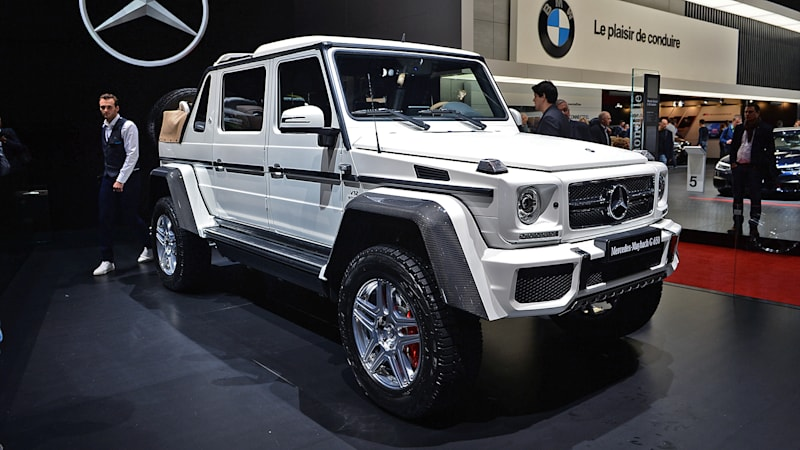 Mercedes maybach g650 landaulet is the ultimate safari for Mercedes benz maybach g650