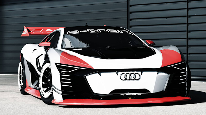 Here s Audi s E-Tron Vision Gran Turismo — as an actual car
