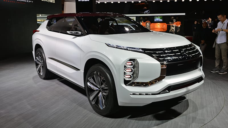 The Mitsubishi Gt Phev Concept Offers An Unsightly Look