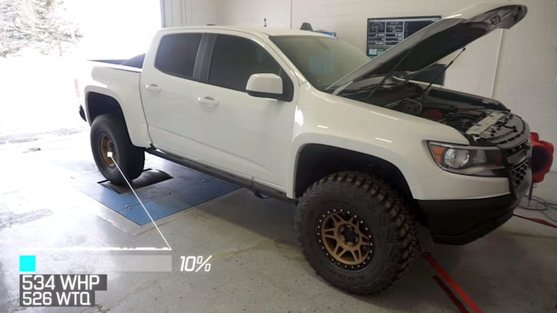 Chevy Colorado ZR2 gets LT4 swap as 720 hp mini monster truck