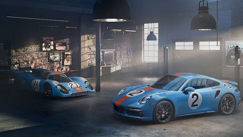 Porsche 911 Turbo S is an homage to the victories of Pedro Rodriguez