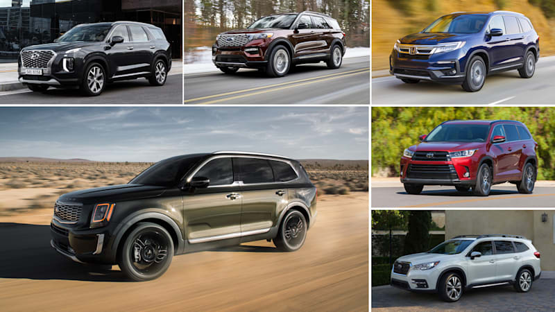 2020 Kia Telluride Vs Pilot Explorer Palisade Ascent And