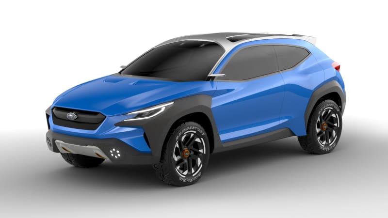 Subaru Viziv Adrenaline previews the next-gen Crosstrek | Autoblog
