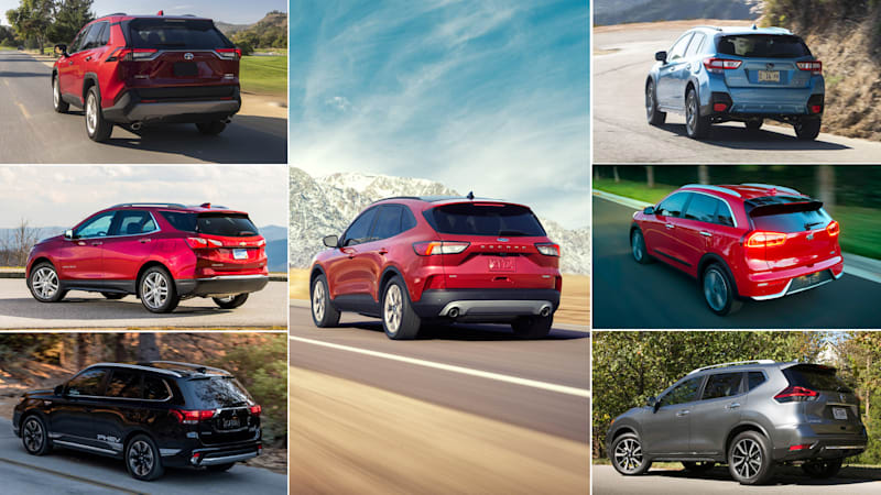 2020 Ford Escape hybrids vs other crossover fuel sippers: How they compare on paper