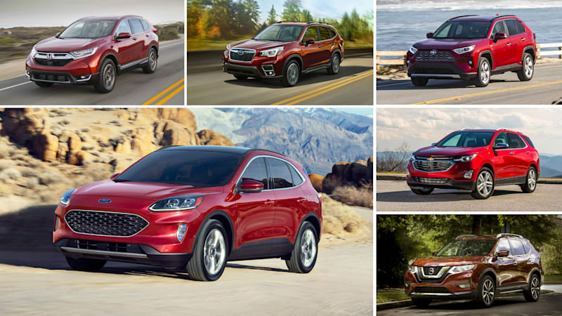 Best Rated Small Suv 2020 2020 Ford Escape specs compared with compact crossovers | Autoblog