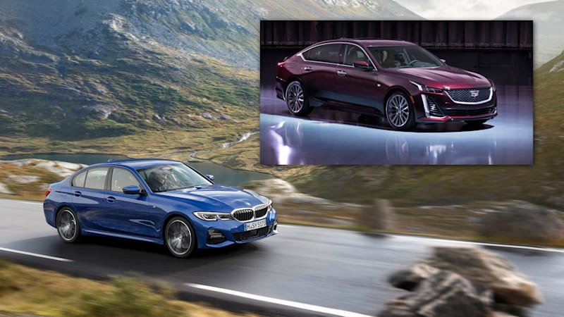 2020 Cadillac Ct5 Versus The 2019 Bmw 3 Series How They Compare On