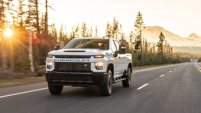 2020 Chevrolet Silverado HD First Drive Review