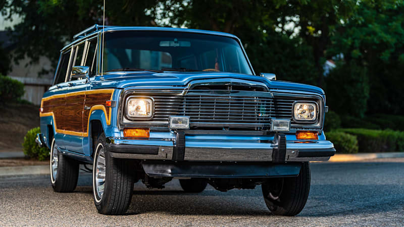 This LS-swapped 1984 Jeep Grand Wagoneer got a grand restoration