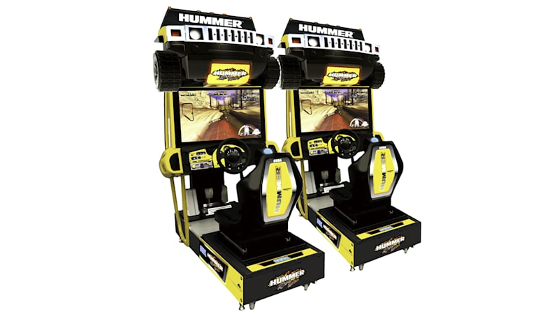 Sega's 'Hummer Extreme Edition' may be the most 2000s arcade racing game ever 1