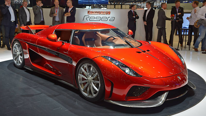 It D Slot Below Both The Agera Rs And Regera