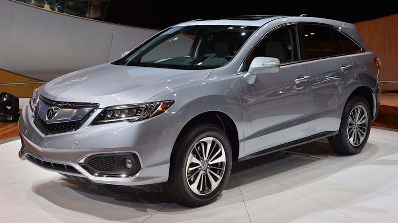 2016 Acura RDX arrives with freshened styling powertrain
