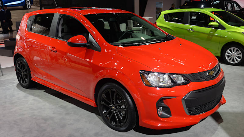 chevy sonic hatchback 2017 manual