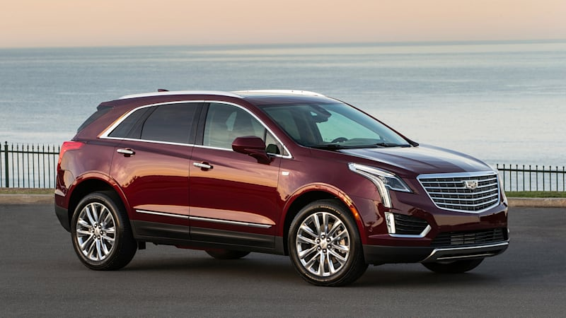 cadillac xt5 platform to underpin three row crossover autoblog. Black Bedroom Furniture Sets. Home Design Ideas