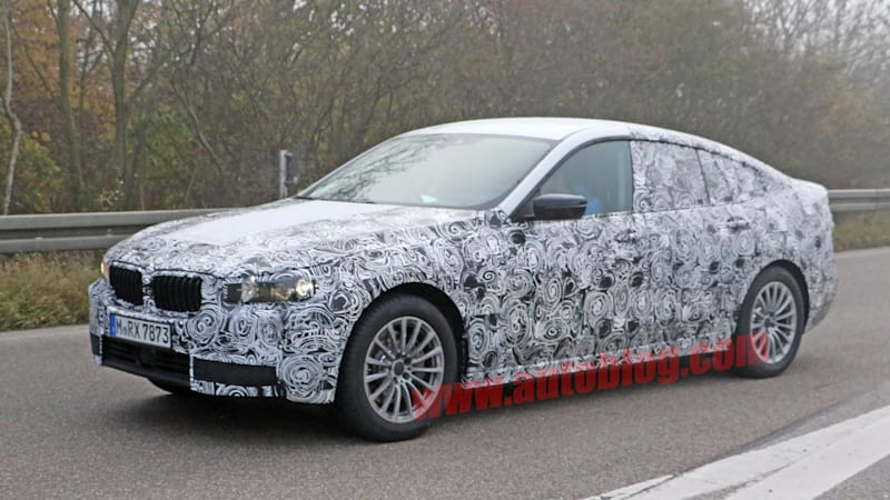 bmw spotted testing new 5 series gran turismo autoblog. Black Bedroom Furniture Sets. Home Design Ideas