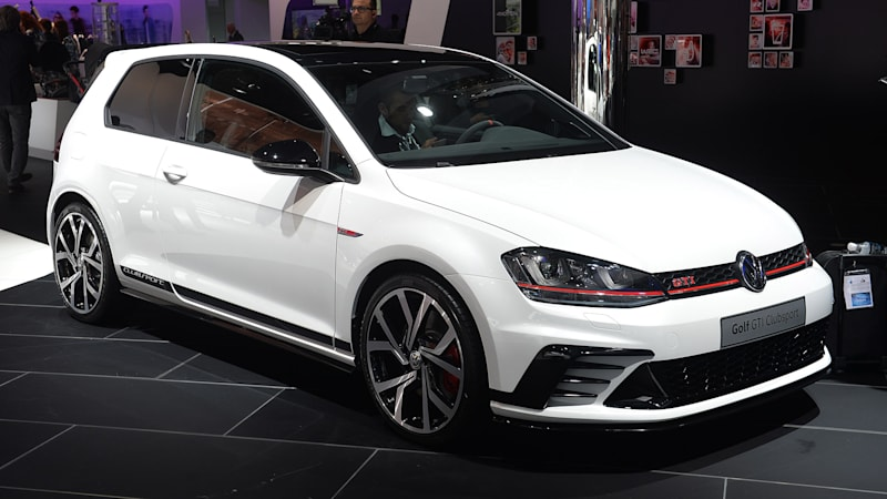 2016 Vw Gti Clubsport Is A New Breed Of Forbidden Fruit Autoblog