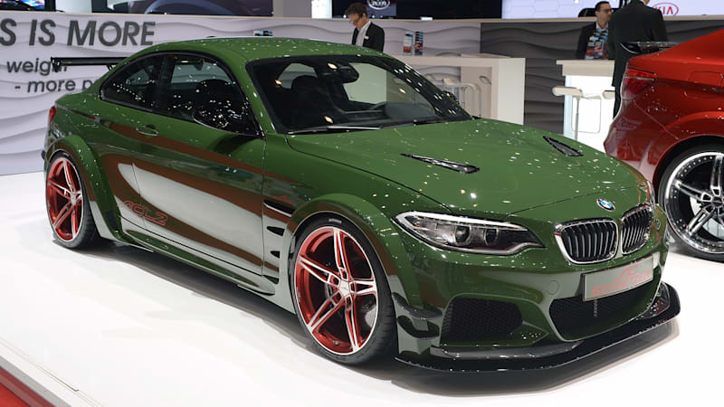 The 570 Hp Ac Schnitzer Acl2 Concept Tries To One Up The M2 Autoblog