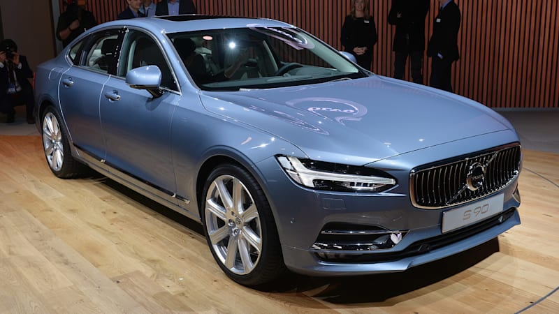 2017 volvo s90 starts at 47 945 goes on sale this summer autoblog. Black Bedroom Furniture Sets. Home Design Ideas