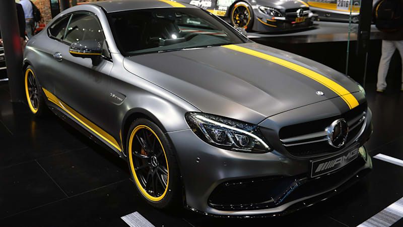 Mercedes amg c63 coupe launches with dtm styled edition 1 for Mercedes benz c63 amg coupe price