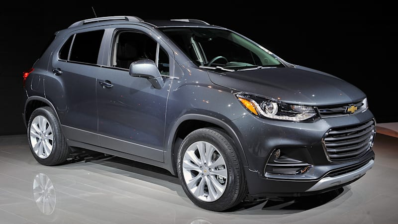 2017 Chevrolet Trax Brings Its Fresher Face To Chicago Autoblog