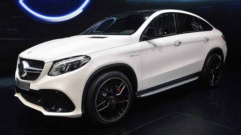 Mercedes has X6 in its crosshairs with the GLE Coupe - Autoblog