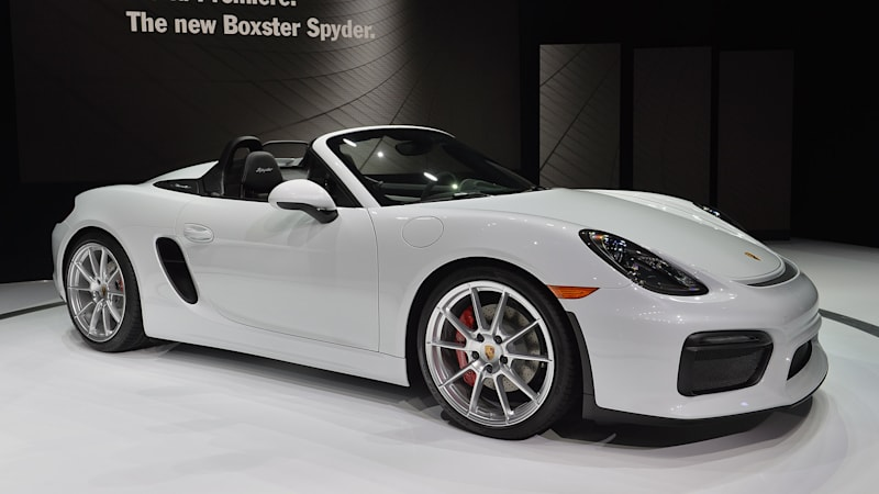 2016 Porsche Boxster Spyder Marks The Return Of Something Great W