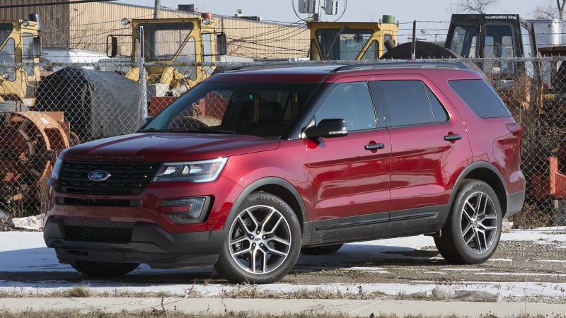 2016 ford explorer sport review w video autoblog. Black Bedroom Furniture Sets. Home Design Ideas