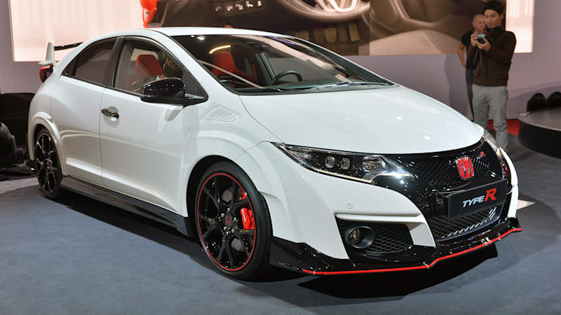 2016 honda civic type r shows sometimes the grass really for Honda civic type r 2016 price