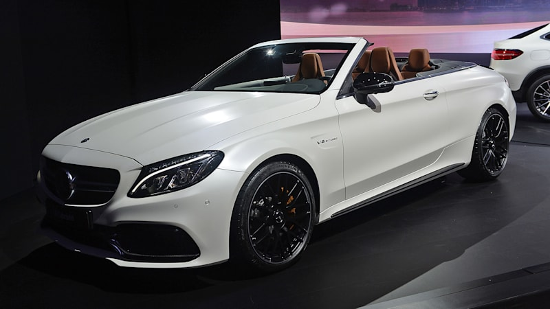 2017 Mercedes Amg C63 Cabriolet Is A Turbo Topless