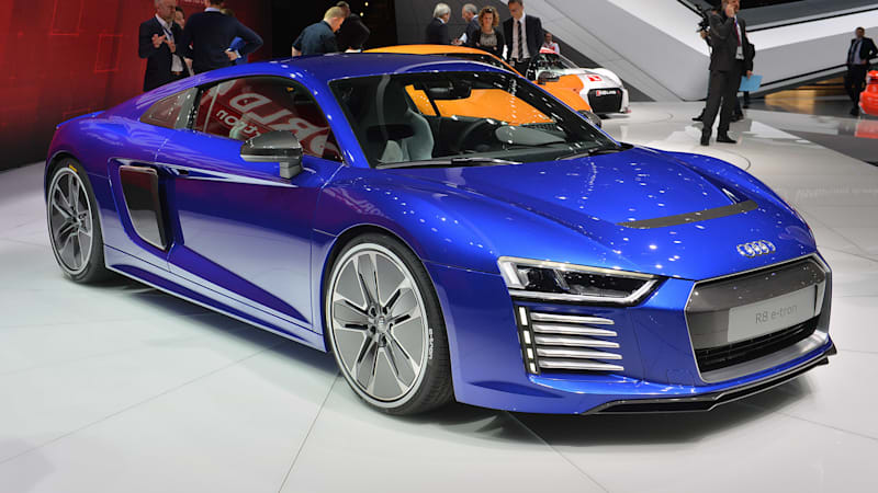 The Audi R Etron Is Dead With Less Than Built Autoblog - Audi r8 etron