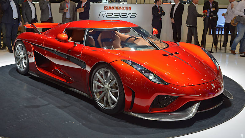 The Koenigsegg Regera Is The Most Insane Hybrid On Earth Autoblog