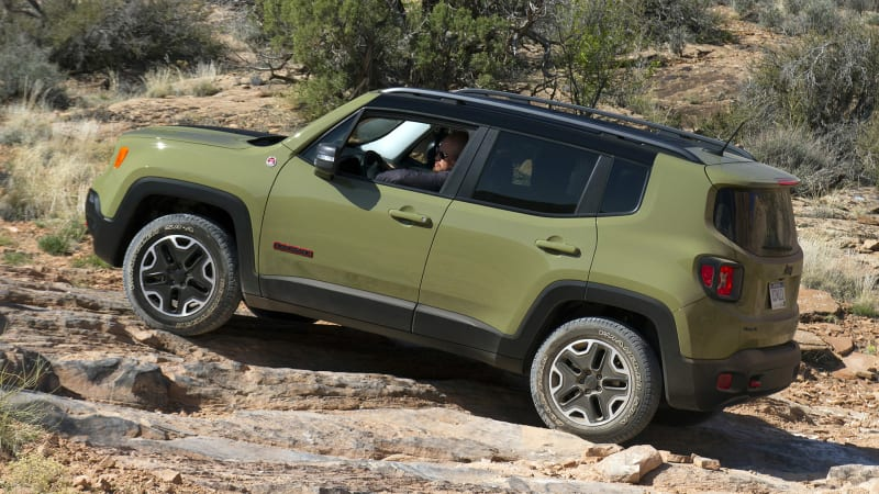 Crawling Moab in the 2015 Jeep Renegade Trailhawk [w/video] | Autoblog