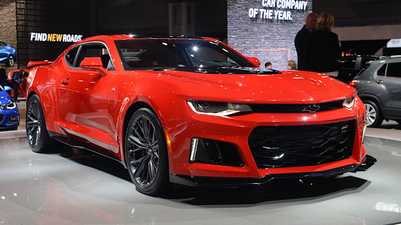 2017 Chevrolet Camaro Zl1 Brings Lots Of Fire Gears To New York Autoblog