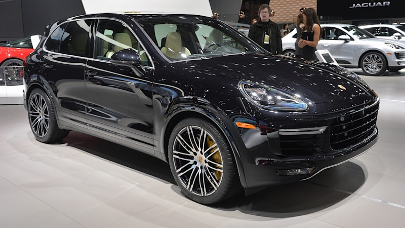 2017 Porsche Cayenne Turbo S Gets Faster More Ful W Video Autoblog