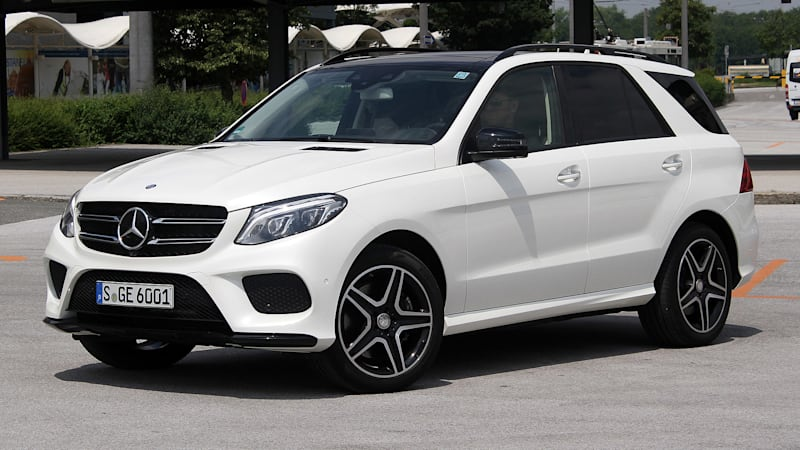 2016 mercedes benz gle class first drive autoblog. Black Bedroom Furniture Sets. Home Design Ideas
