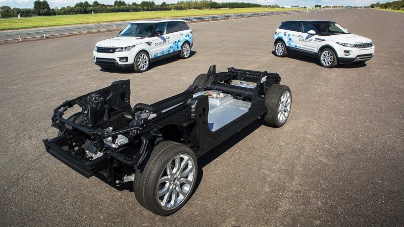 Jaguar Land Rover Reveals EV Concepts Details Green Strategy - Jag land rover