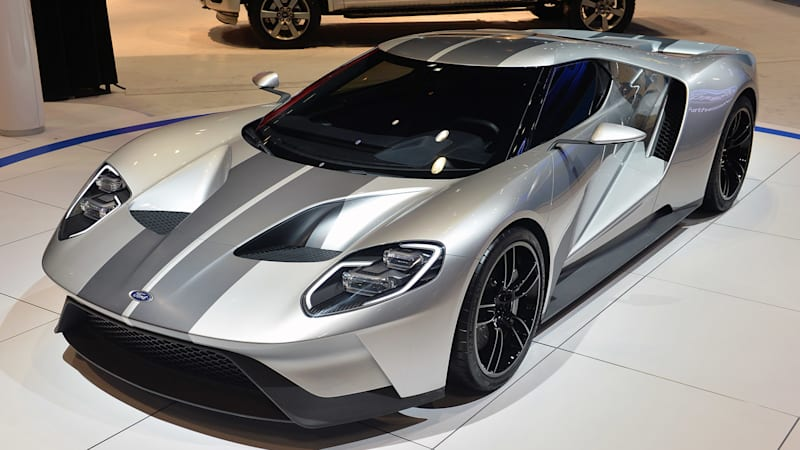 Ford Gt 2017 Price >> New Ford Gt To Carry 400k Price Tag Autoblog