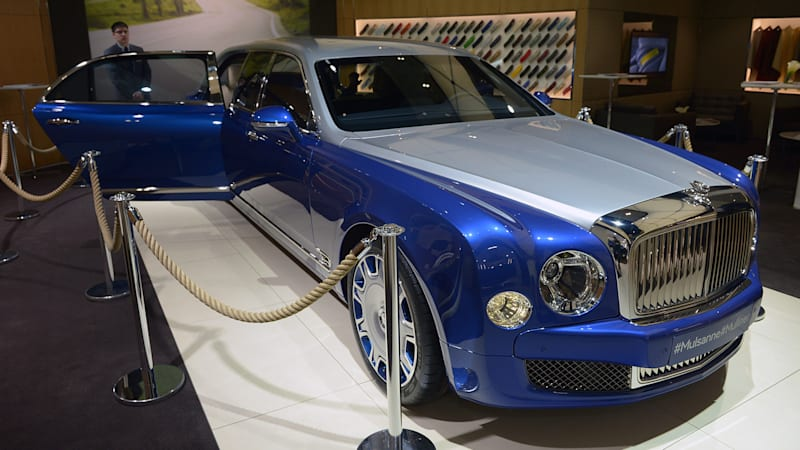 Bentley Mulsanne Grand Limousine By Mulliner Is A Six Passenger
