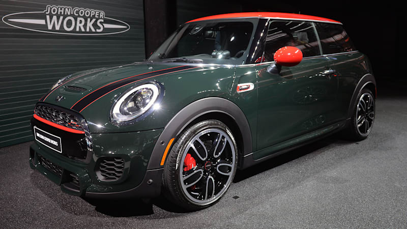 John Cooper Works Mini rolls into Detroit, asks 'GTI who